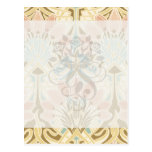 art nouveau nature floral pattern art
