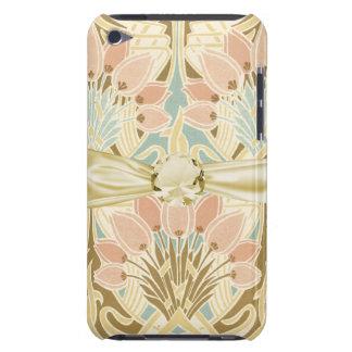 art nouveau nature floral pattern art iPod touch Case-Mate case