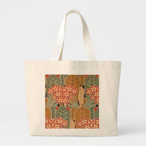 Art Nouveau Pattern #1 at Emporio Moffa Jumbo Tote Bag