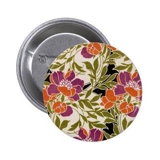 Art Nouveau pattern #3 6 Cm Round Badge