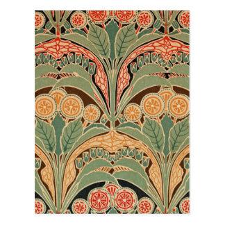 Art Nouveau Pattern #3 at Emporio Moffa Postcards