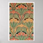 Art Nouveau Pattern #3 at Emporio Moffa Print