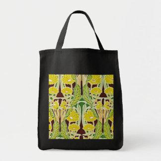 Art Nouveau Pattern #7 at Emporio Moffa Grocery Tote Bag