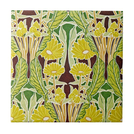 Art Nouveau Pattern #7 at Emporio Moffa Tile