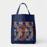Art Nouveau Pattern #8 at Emporio Moffa Grocery Tote Bag