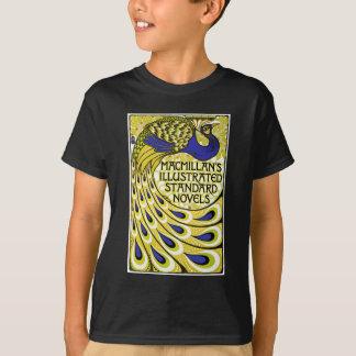 Art Nouveau:  Peacock Illustration T-Shirt