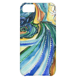 Art Nouveau Peacock iPhone Case
