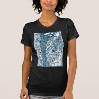 Art Nouveau Peacock T Shirt