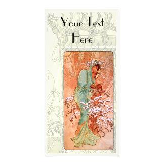 Art Nouveau Photo Card