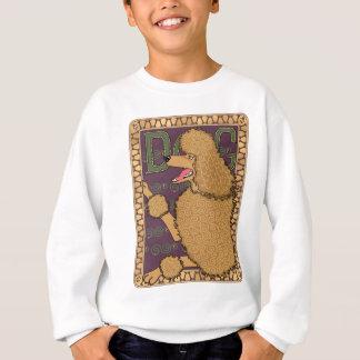 Art Nouveau Poodle Sweatshirt