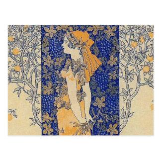 Art Nouveau Postcard