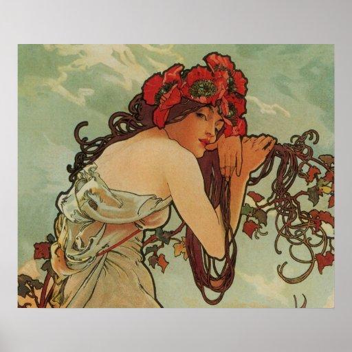 Art Nouveau Poster
