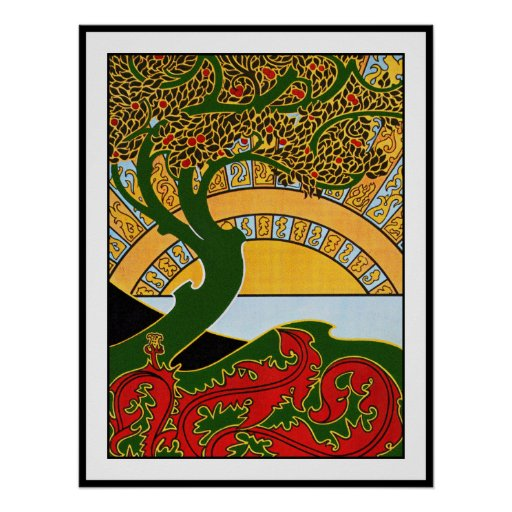 Art Nouveau Poster:  La Libre Esthetique