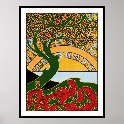 Art Nouveau Poster:  La Libre Esthetique Poster