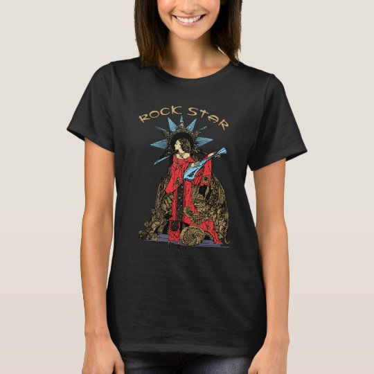 Art Nouveau Rock Star T-Shirt