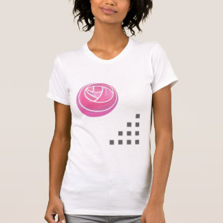 Art nouveau Rose & Squares Elements T-shirt