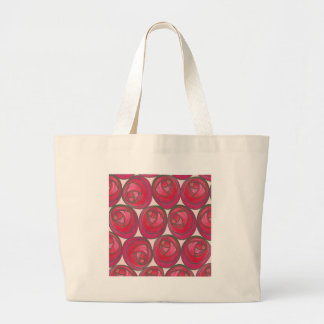 Art Nouveau Roses Pattern Tote Bag