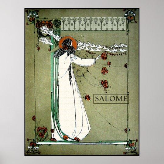 Art Nouveau Salome Poster