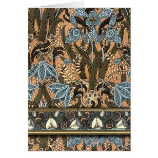 Art Nouveau 'Snowdrops' Card