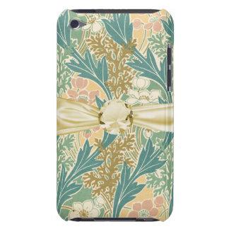 art nouveau spring bloom lovely floral art iPod touch case