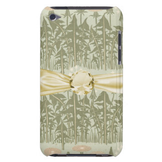 art nouveau spring flowers field design barely there iPod covers