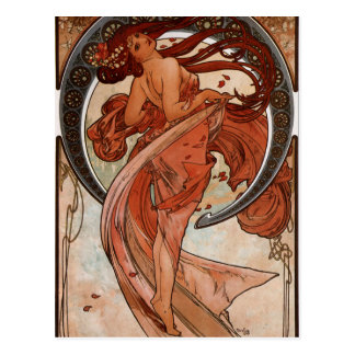 Art Nouveau The Dance Post Card