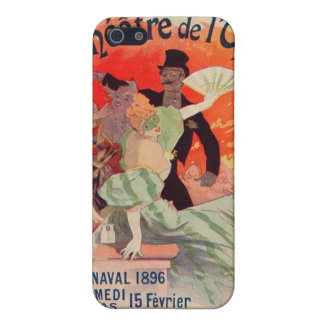 Art Nouveau Theatre Phone Case Case For The iPhone 5