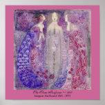 Art Nouveau Three Perfumes Margaret MacDonald 1912 Poster