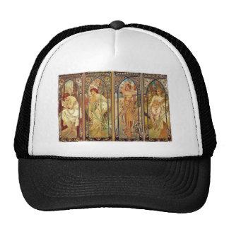 Art Nouveau Times of Day Trucker Hat