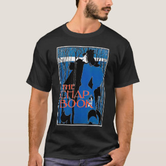 Art Nouveau - Will Bradley - Blue Lady T-Shirt
