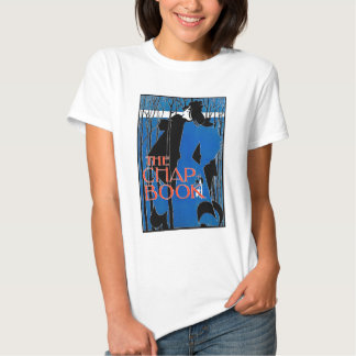 Art Nouveau - Will Bradley - Blue Lady T Shirts