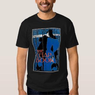 Art Nouveau - Will Bradley - Blue Lady Tshirts