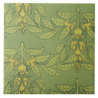 Art Nouveau Wisteria tile