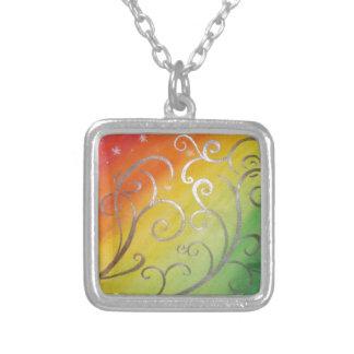Art Nouveau with a Tropical Twist Necklace