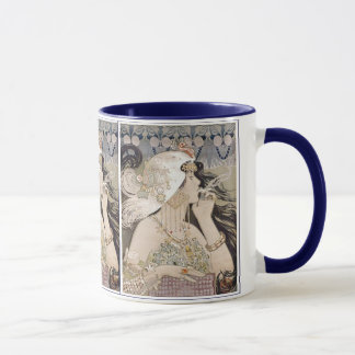 Art Nouveau ~ Women ~ Smoking Mug