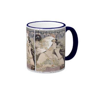 Art Nouveau ~ Women ~ Smoking Mugs