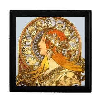 Art Nouveau Zodiac Gift Box