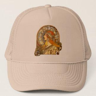 Art Nouveau Zodiac Trucker Hat