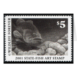 Art of Conservation Stamp – 2001 Greeting Card