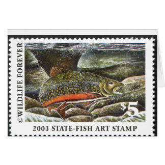 Art of Conservation Stamp – 2003 Greeting Card
