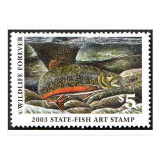 Art of Conservation Stamp – 2003 Postcard