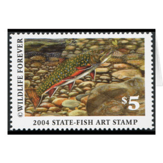 Art of Conservation Stamp - 2004 Greeting Card