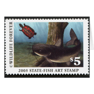 Art of Conservation Stamp - 2005 Greeting Card
