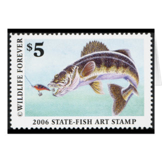 Art of Conservation Stamp - 2006 Greeting Card