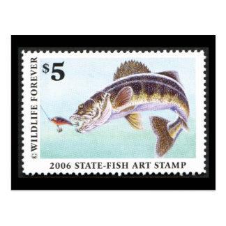 Art of Conservation Stamp - 2006 Postcard