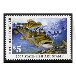 Art of Conservation Stamp - 2007 Greeting Card