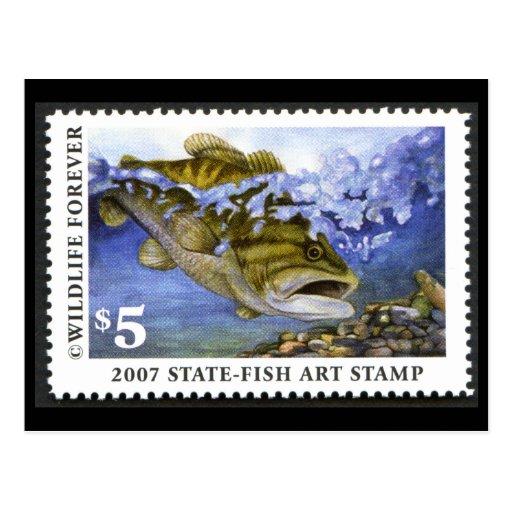 Art of Conservation Stamp - 2007 Postcard