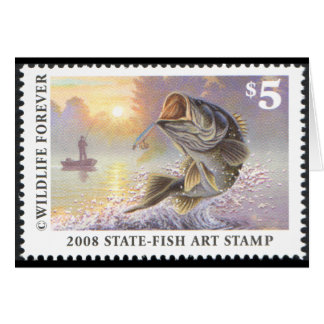 Art of Conservation Stamp - 2008 Greeting Card