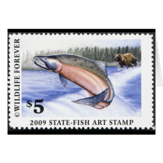 Art of Conservation Stamp - 2009 Greeting Card