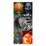 ART OF DEADLY GRAPHIC STUDIO ART CARD PERSONALIZED RACK CARD